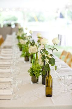 From a wedding at Arrowfield Estate in Saugerties, as spotted on Style Me Pretty. Photography: Mel Barlow + Kate Diago of Mel & Co. Wedding Planning: Laura Wright Events. Floral Design: Green Cottage.