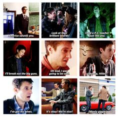 Rory Williams, ladies and gentlemen. He is probably my favorite companion.