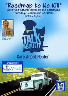 On Sept. 20, the Area Foundation will host the second Community Conversation around San Antonio's strategy to become a no-kill city.  This year's Conversation will feature Mike Arms, president of the Helen Woodward Animal Center in San Diego, California. Read our latest blog post about the upcoming Community Conversation.