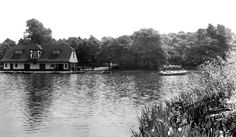 Taylor Park c1955, St Helens spent many happy hours boating here when I was young.