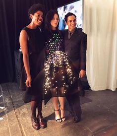 Maddy Maxey writes: At NYFW this season, I teamed up with Zac Posen and Google to create a programmable LED Matrix dress to show on the runway. This dress was created as part of Google's Made…