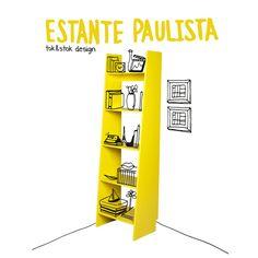 Estante Paulista | Tok&Stok Design
