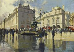 Paul Rafferty | Piccadilly Circus after Rain