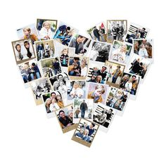 Heart Snapshot Mix by Minted for Minted