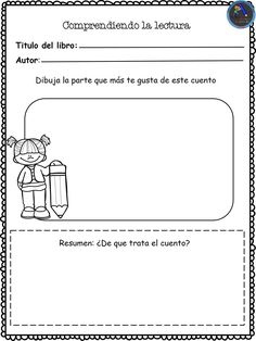 Dual Language Classroom, School Suplies, Preschool Education, School Bulletin Boards, Reading Response, School Items, Math Fractions, Reading Strategies, Opinion Writing