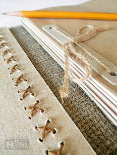handmade by helen: эко-блокнот