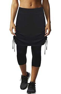 85dd8f697215d HonourSex Womens Capri Skirt Tennis Casual Skirted Leggings Skort, Sport  Running Athletic Swim Workout with Capri/Shorts