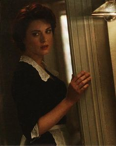 Alexandra Breckenridge - as Moira O'Hara - in American Horror Story: Murder House - - Moira O Hara, Moira Ahs, Alexandra Breckenridge, Tate And Violet, American Horror Story 3, Ahs Cast, House Seasons, Evan Peters, Horror Stories