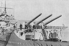 Rear Guns of the Graf Spee.