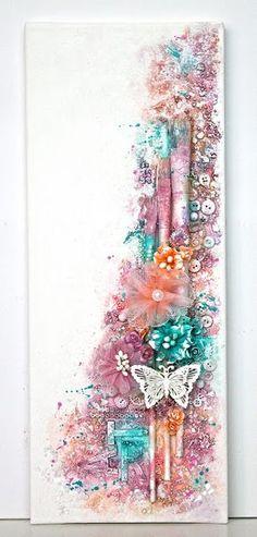 Ingrid's place: Art canvas 50x20cm *13arts*