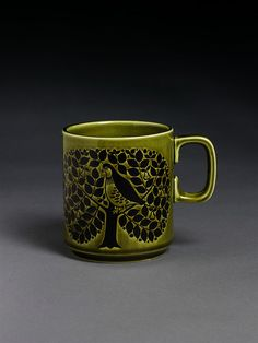 Retro Pottery Net: Hornsea Mugs by John Clappison