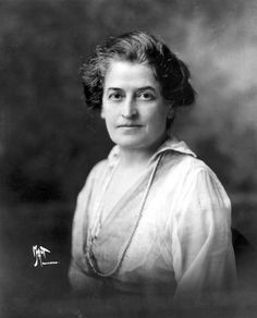 Juliette Gordon Low - Founder of the Girl Scouts of the USA in 1912.