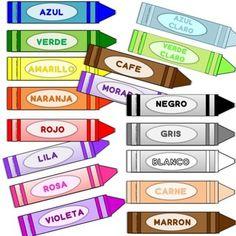 15 colores creados en un divertido formato para utilizar como vocabulario o para jugarGRATIS!