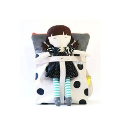 Backpack Doll  Saltwater Kid Doll and Matching by saltwaterkids
