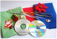 enfeite natal reciclagem cd decorar arvore natal casa sala de aula (1)