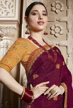 Indian Beauty Saree, Indian Sarees, Silk Sarees, Mirror Work Blouse Design, Saree Poses, Fashion Vocabulary, Saree Look, Bollywood Saree, Party Wear Sarees