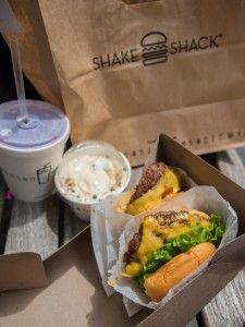 Delicious Shake Shack New York City