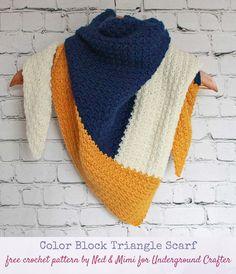 Crochet Scarves, Crochet Shawl, Crochet Stitches, Free Crochet, Knit Crochet, Knit Shawls, Crochet Granny, Knitting Patterns, Crochet Patterns