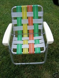 1960's childhood lawn chair  ........Please save this pin.   .............................. Because for vintage collectibles - Click on the following link!.. http://www.ebay.com/usr/prestige_online