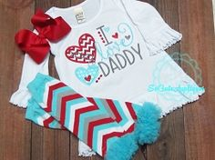 I Love Daddy Hearts Applique - 2 Sizes! | What's New | Machine Embroidery Designs | SWAKembroidery.com So Cute Appliques