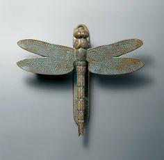 Dragonfly Door Knocker eclectic outdoor decor www.restorationha...