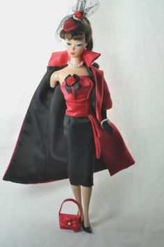 Handmade Vintage Barbie/Silkstone Clothes by P. Linden-7pcs