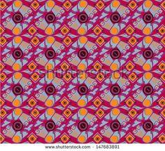 vector modern javanese batik pattern