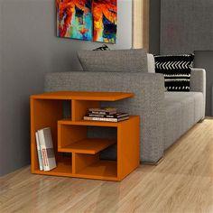 Labirent Coffee Table, Orange