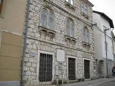 Home of poet Aleksa Šantić, later used by his brother in law writer Svetozar Ćorović. Visit our website: www.tourguidemostar.com #history #tgm #mostar #TourGuideMostar #aleksasantic #streets #architecture