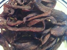 Cracked Black Pepper Venison Jerky - Michael made this tonight , it was really good!