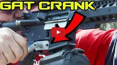 Turning your AR-15 into a mini Gatling Gun! (GAT CRANK) | Super SlowMo 4K https://link.crwd.fr/1WjU