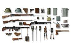 Armamento y equipación de los poilus, cortesía de ICM. Más en www.elgrancapitan.org/foro