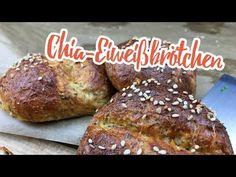 Low-Carb Chia-Eiweißbrötchen - Low Carb Rezepte