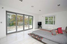 This bedroom in our #Yorkshirepropertyoftheweek has a wonderful light and airy feel to it