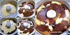 Torta marmolada 1, 2, 3 y 4, de coco y chocolate | Cocina