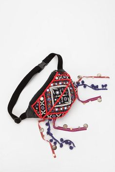 @Lily Morello Johnson ~ I think I will make these for us for Bonnaroo!   Ecote Moroccan Festival Belt Bag  #UrbanOutfitters