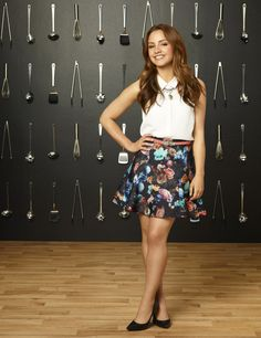 Aimee Carrero of @YoungandHungry #ABCFamilyEvent #YoungandHungry