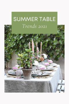 Summer Tablescape Ideas Summer Table Decorations, Tablescapes, Plants, Ideas, Home Decor, Decoration Home, Room Decor, Table Scapes, Plant