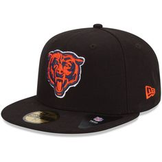 New Era Chicago Bears Solid 59FIFTY Fitted Hat - Black
