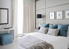 Chambre Turquoise Et Gris – Idées d\'images à la maison