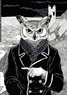 The Cryptids - Owl Man by furm4nek on deviantART