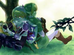 Legend of Zelda: Male Sheik and Link