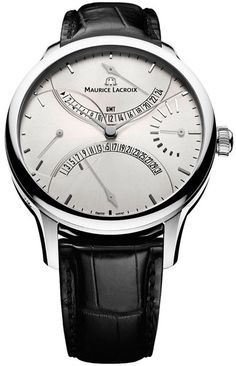 Maurice Lacroix Masterpiece Silver Dial Mens Watch MP6518-SS001-130
