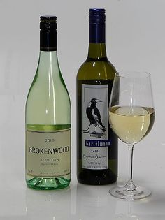 Brokenwood Semillon, HunterValley 2010 and  Gartelmann Benjamin Semillon, Hunter Valley, 2010 – Two great pairings with the Ham and Chicken