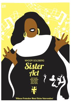 Sister Act Movie Inspired Poster Delores & by CuteStreakDesigns, $30.00