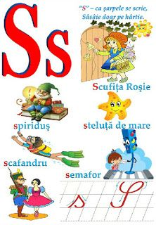 Creionasul cel istet si prietenii: Alfabetul (cu ilustratii) COD 04 Early Education, Kids Education, Learning The Alphabet, School Lessons, Learn English, Kids And Parenting, Montessori, Kindergarten, Homeschool