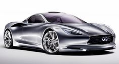 Infiniti Emerg-E official images. This electric super-car is to be revealed at Geneva Auto Show in March.