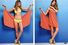 Как сшить пляжное платье быстро своими руками