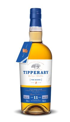 Tipperary - The Rising 11 Years Old Sigle Malt Irish Whiskey Whiskey Girl, Good Whiskey, Bourbon Whiskey, Scotch Whisky, Single Malt Whisky, Distillery, Whiskey Bottle, Alcoholic Drinks, Cocktails