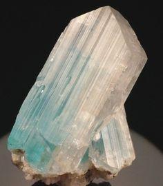 Euclase, BeAl(SiO4)(OH) , Equador, Borborema mineral province, Rio Grande do Norte, Brazil